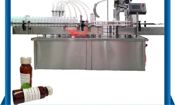 Automatik Botol Rotary Bottle Filling Machine Dengan Capping