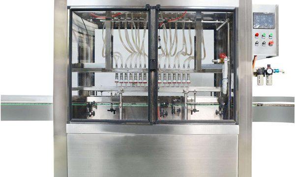 Máquina llenadora automática del atasco poner crema de las cabezas 10 automáticas