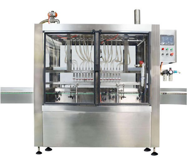 Full Automatic 10 Heads Cosmetic Cream Jam Filling Machine
