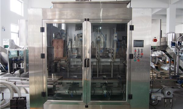 Automatic Food Oil Filling Machine And Olive Oil Packing Machine