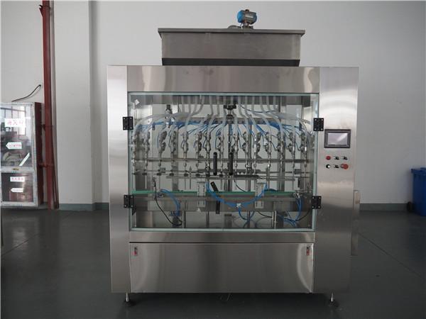 التلقائي 12 رؤساء الضغط الجوي السائل ملء آلة