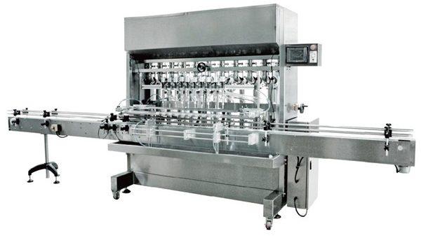 Machine de remplissage liquide automatique de gravité de têtes de 12 pour la sauce de soja