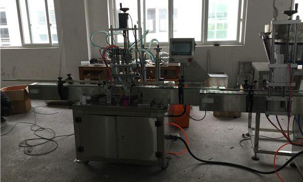Automatische Kolbenflüssigkeits-Füllmaschine 50ml zu 1L