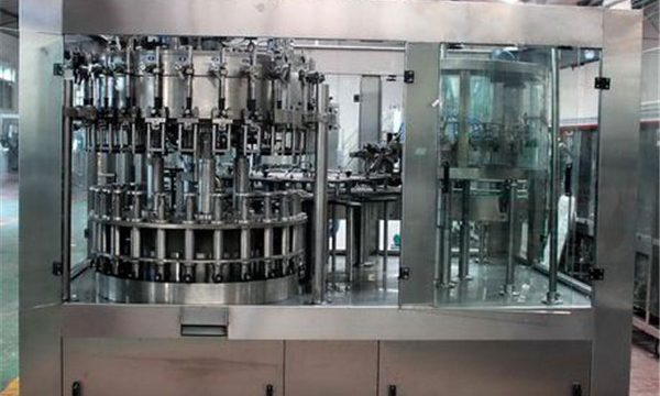 Automatische Edelstahl-flüssige Füllmaschine für Öl / gereinigtes Wasser
