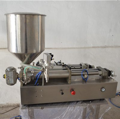 Semi Automatic Manual Oil Filling Machine Cosmetic