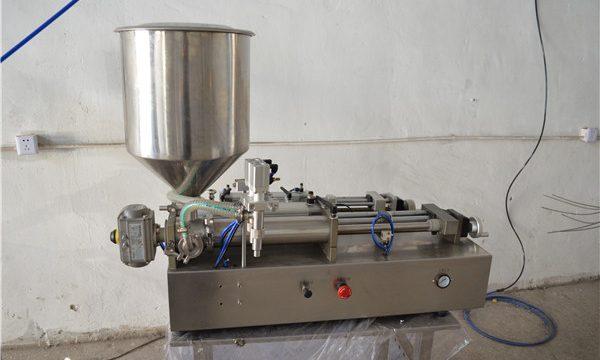 Puoliautomaattinen manuaalinen öljyntäyttökone kosmetiikka