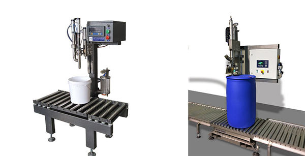 Machine de remplissage de fût d'huile