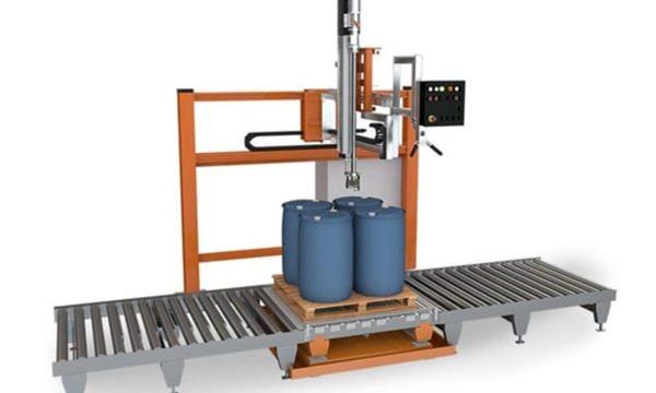 200L 드럼 액체 충전물 기계