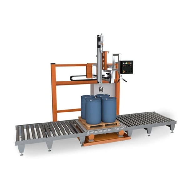 200L 드럼 액체 충진 기계