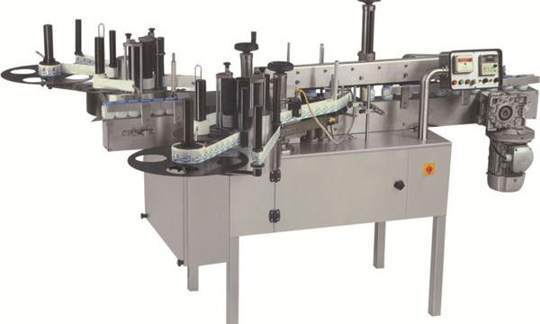 Horizontal Wrap Around Tube Labeling Mmachine