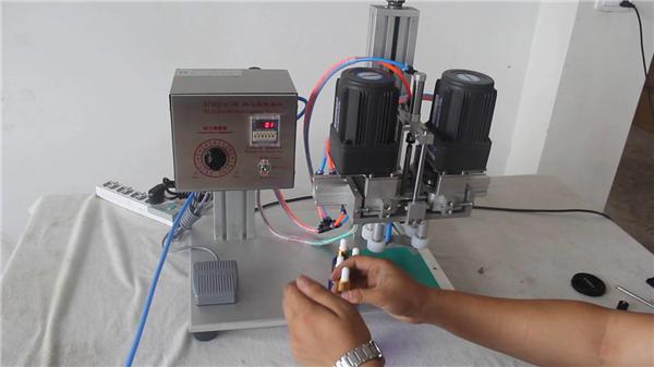 완전 자동 공압 캡핑 기계 제조업체