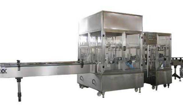 Vollautomatische Flüssigseifen-Füllmaschine