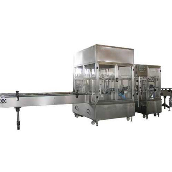 Fully Automatic Liquid Soap Filling Machine Line