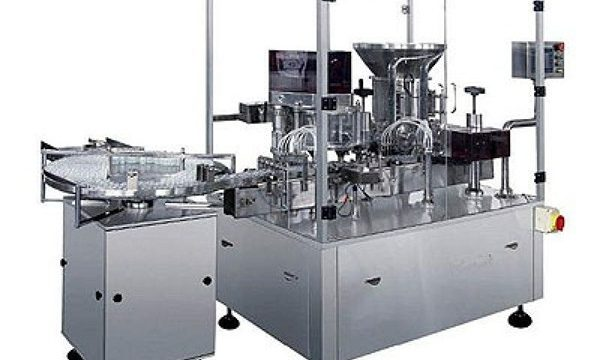 Dry Powder Injection Filling Machine