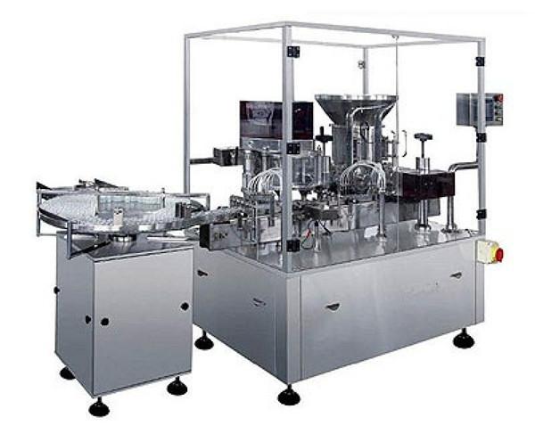 Dry Powder Injection Filling Machine