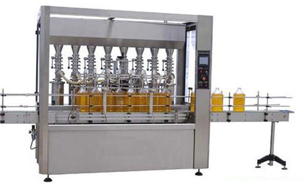 High Precision Automatique Lubricating / Edible Oil Filling Machine 2000ml-5000ml