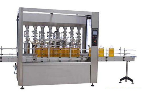 High Precision Automatic Lubricating/Edible Oil Filling Machine 2000ml-5000ml