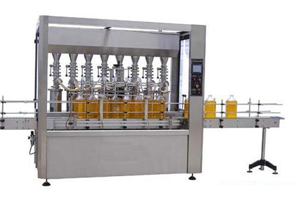 높은 정밀도 자동적 인 윤활 / 식용 기름 충전물 기계 2000ml-5000ml