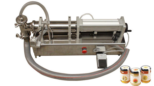 Semi Automatic High Viscosity Lliquid Honey Filling Machine