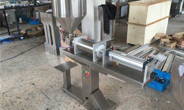 Półautomatyczna jednogłowicowa maszyna do napełniania miodu