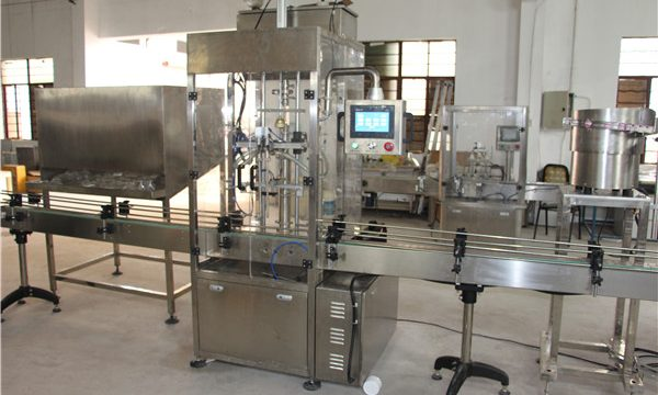 High Volume Automatic Bottle Shampoo Filling Machine