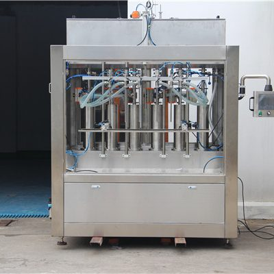 Pure Pneumatic Semi-Automatic Tomato Sauce Filling Machine