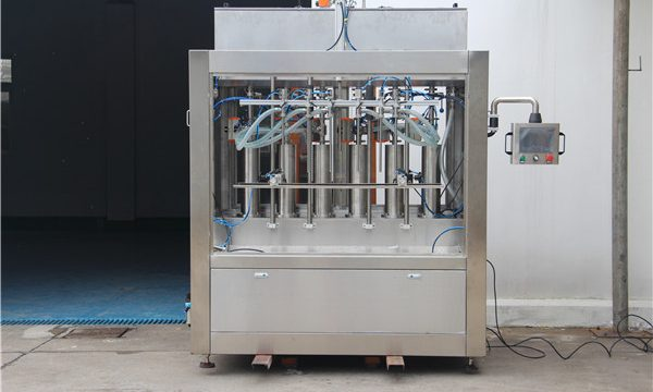 Machine de remplissage de sauce tomate semi-automatique pneumatique pure