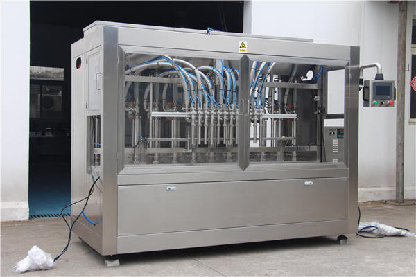 Fully automatic honey filling machine in bottles