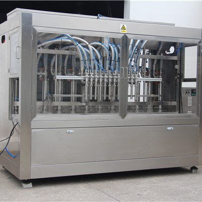 High Speed Full Automatic Oil Filling Machine