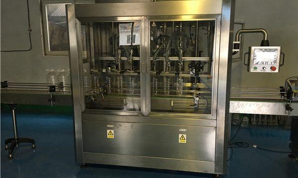 Chine machine de remplissage d'huile comestible de type linéaire