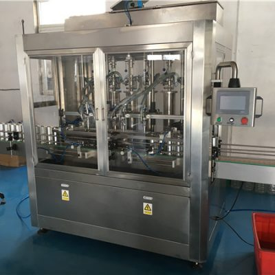 Glass Bottle Sauce Filling Machine