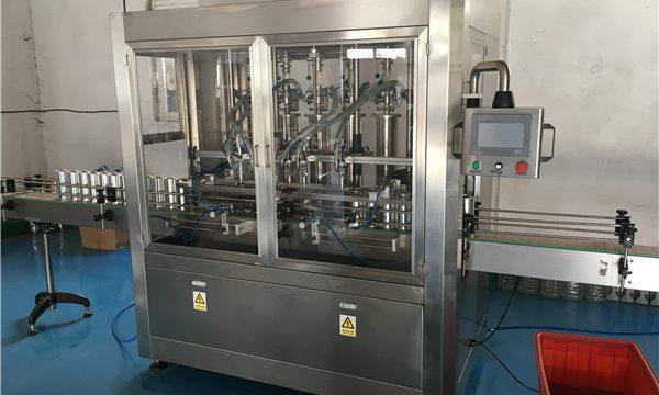 Máquina de llenado de salsa de botella de vidrio