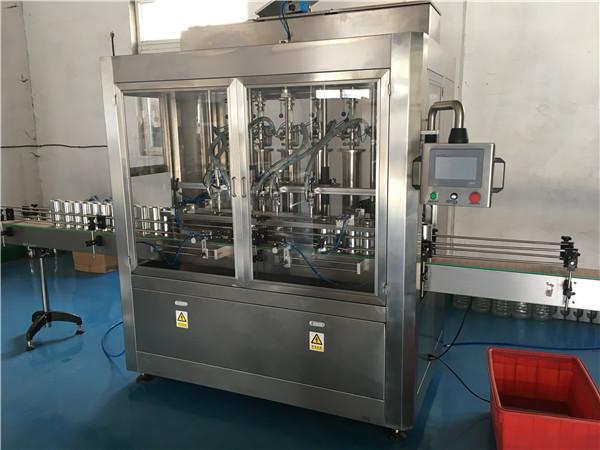Glass Bottle Sauce Filling Machine