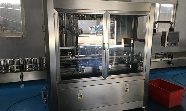 Máquina llenadora de salsas automática completa de alta calidad