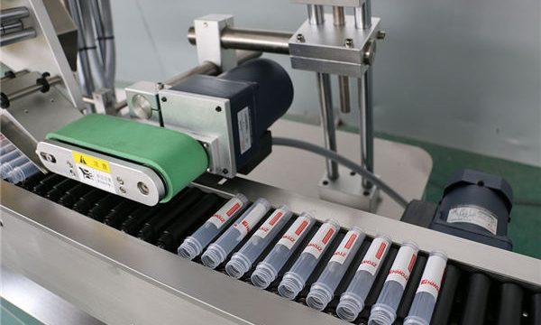 Máquina de etiquetado de frascos de inyección automática horizontal