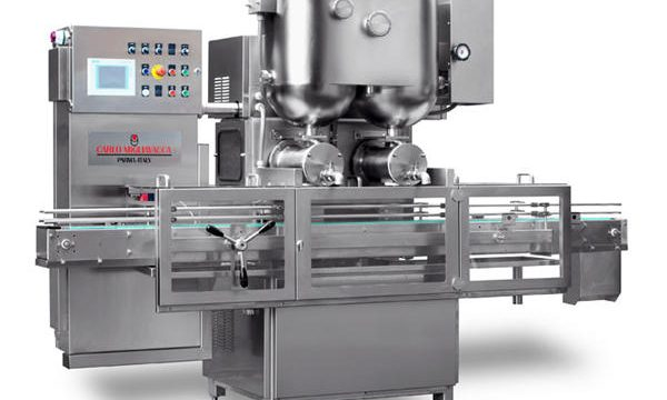 Double Heads Semi-Automaic Fruits Jam Filling Machine