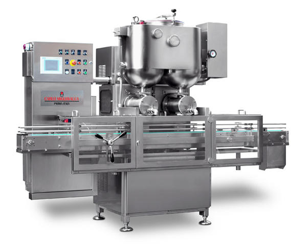 Double Heads Semi-Automaic Fruit Jam Filling Machine