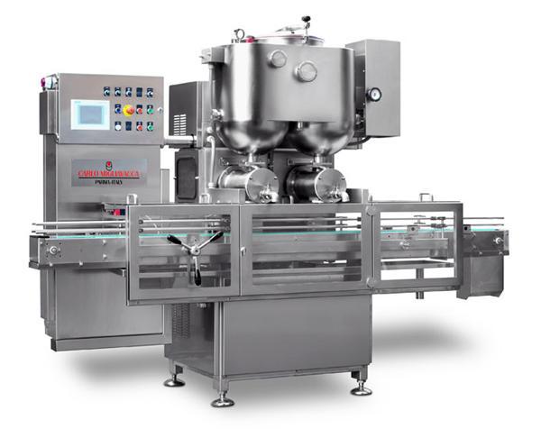 Machine de remplissage semi-automatique de confiture de fruits à double tête