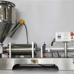 Pure Pneumatic Semi-Automatic Fruit Jam Filling Machine