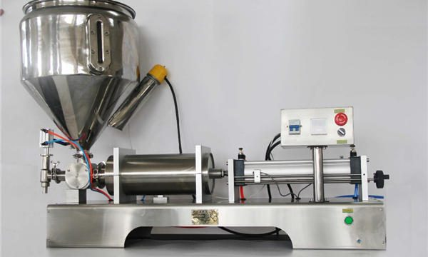 Чиста пневматична напівавтоматична машина для наповнення фруктового варення