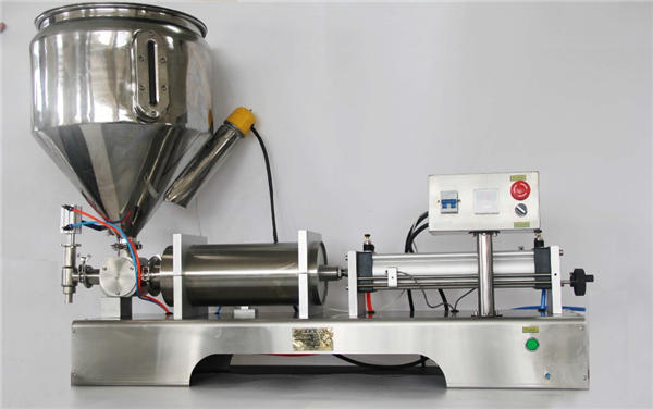 Machine de remplissage semi-automatique de confiture de fruit pneumatique pure