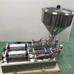 Široce používaný Double Heads Strawberry Jam Plnící stroj