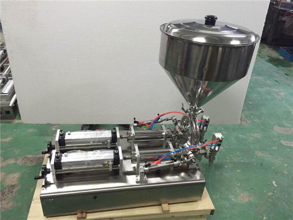 Machine de remplissage de confiture de fraises de double têtes largement utilisée