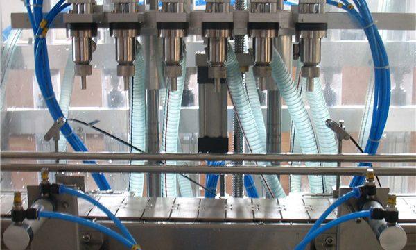 Stroj za automatsko punjenje tekućina sa šest glava