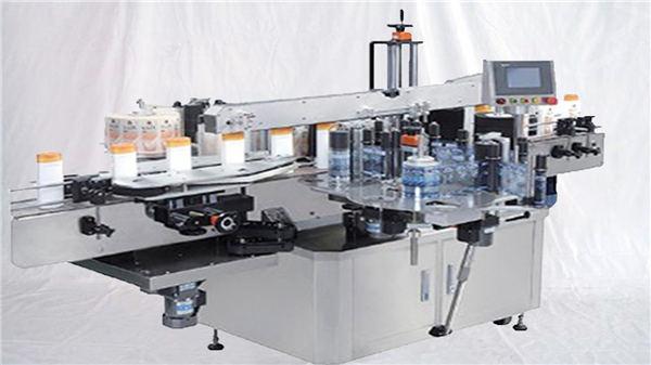 Machine de label de surface supérieure de bouteille de parfum en verre