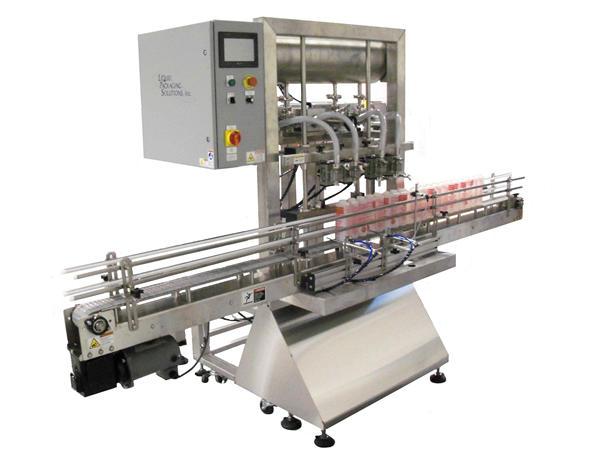 Machine de remplissage automatique de piston de bouteille
