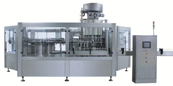 Pneumatic bleach liquid filling machine