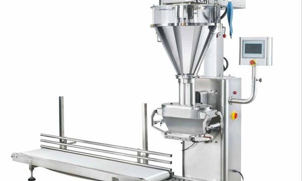 Semi-Automatic Mmilk Powder Filling Machine