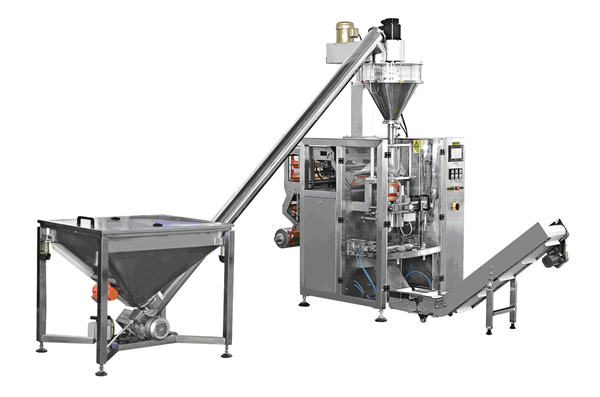 Automatische Flaschenfüllmaschine für Spiralfutterpulver