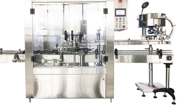 Round Liquid Bottle Rotary Capping Machine